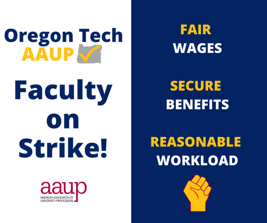 Press Release: OT-AAUP Begins Historic Strike to Demand Fair Wages and Workload at OIT